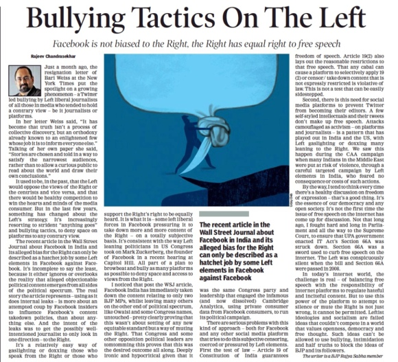 Hold Facebook Accountable Misuse Of Social Media A Threat To Democracy Platforms Must Be Agnostic To Ideology Newspaper Editorials Can T Hide Weak Reporting Ijr